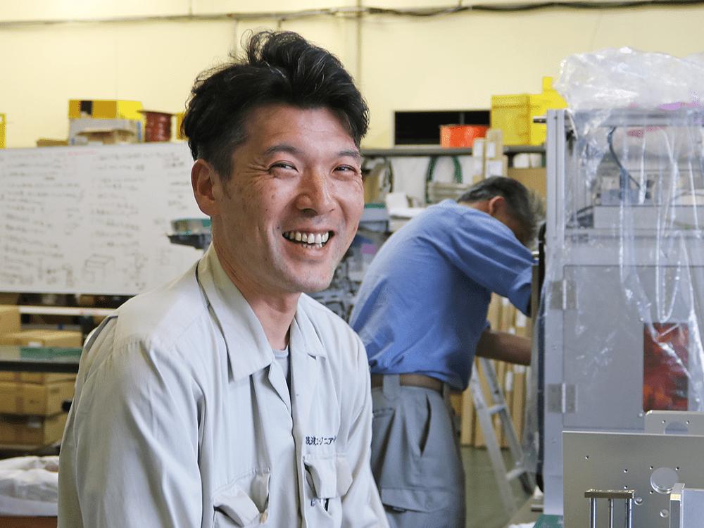 糸澤さん|省力化機械.com
